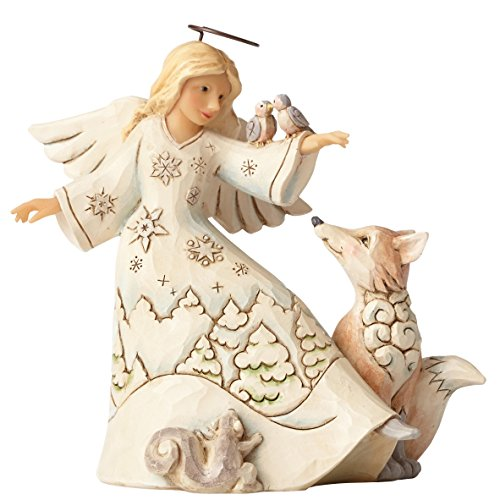 Jim Shore Heartwood Creek Fig Woodland Angel/Animals Figurine by Jim Shore Heartwood Creek
