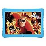 BENEVE 10.1'' Inch 1080p Full HD IPS Display Android Tablet, 2GB+32 GB Big Storage, Android 7.0, Dual Camera 2MP+ 5MP, Bluetooth and WiFi, Kid-Proof Drop Resistance Case and Parent Control App