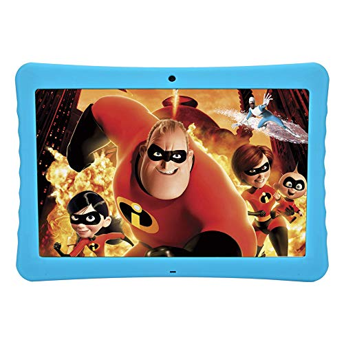10.1″ Inch 1080p Full HD Display Tablet, 10 Android Tablet, Android 7.0,2GB+32 GB,Dual Camera Front 2MP+ Rear 5MP,Bluetooth and WiFi Kid-Proof Case and Parent Control Apps