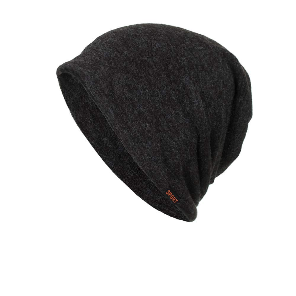 804537fcd5d Amazon.com  Women Men Stylish Thin Hip-hop Soft Stretch Knit Slouchy Beanie  Hat Skull Cap  Clothing