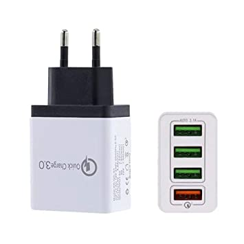 STRIR Cargador USB Multipuerto Quick Charge 3.0 Enchufe USB ...