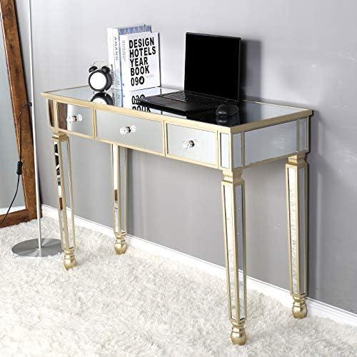 SSLine Mirrored Makeup Desk Vanity Dressing Table