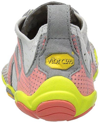 17w7006 oyster De Gris Fivefingers Chaussures V Running 38 Femme run Vibram 7Paq4Cw