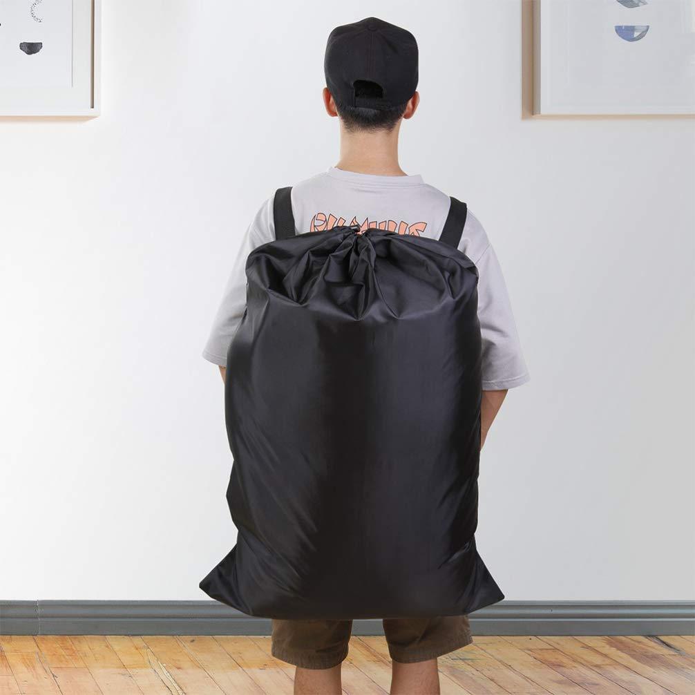 TOPBATHY mochila bolsa de lavander/ía mochila impermeable para viajes camping negro