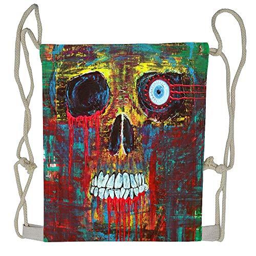 Cellcardphone Spirit Of Davy Jones Unisex Drawstring Bag Drawstring Backpack Sport Bag Gym Bag 100% Polyester Material Travel Bag for Men Women -