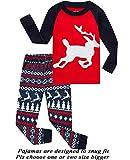 Boys Girls Christmas Pajamas Cotton Toddler Clothes Kids Pjs Children Sleepwear Size 6T