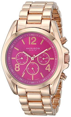 Akribos XXIV Women's AK760RGPK