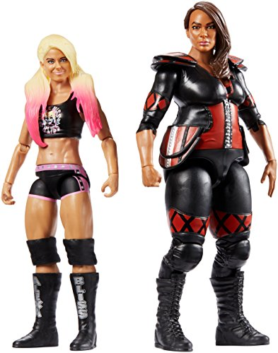 WWE Figure Series # 54 Alexa Bliss & Nia Jaxx Action Figures, 2 Pack by WWE
