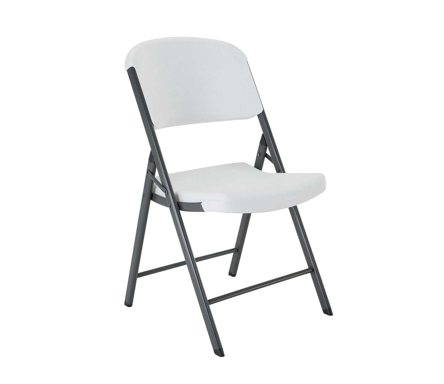 Lifetime 22804 Classic Commercial Folding Chair, White Granite, 1-pack by Lifetime