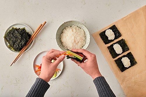 Annie Chun's Organic Seaweed Snacks, Sesame, 0.16 oz (Pack of 12), America's #1 Selling Seaweed Snacks