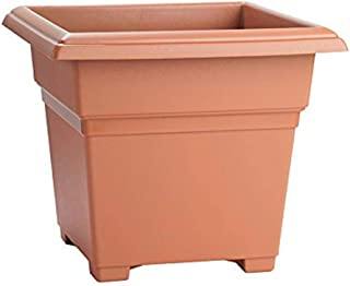 product image for Novelty 203068 Countryside Square Tub Planter, Terra, 14-Inch