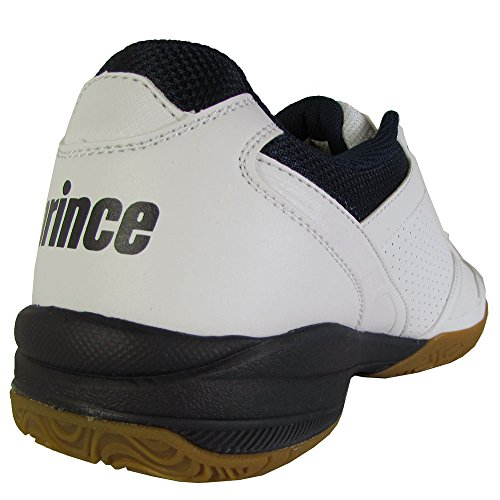 Prins Menns Kvm Fordel Lite Squash Sneaker Sko Hvit / Marine