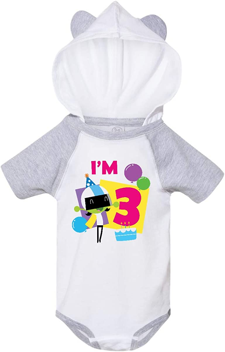 PBS Kids inktastic Im 3 with Dee and Balloons Infant Creeper