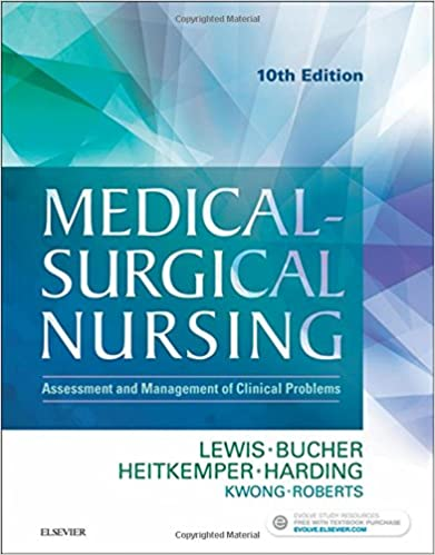 Medical-Surgical Nursing, 10th Ed, Lewis, Dirksen