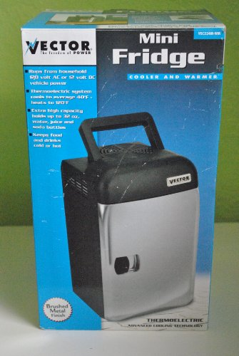 (Vector Mini Fridge AC/DC Cooler and Warmer)