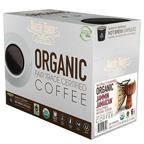 Barrie House Fair Trade Organic Jammin Jamaican Single Serve Capsules (96 Capsules)