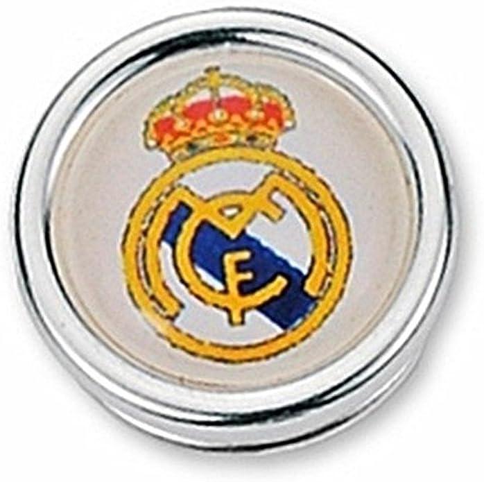 Pin escudo Real Madrid Plata de ley redondo [6813] - Modelo: 30-053: Amazon.es: Joyería
