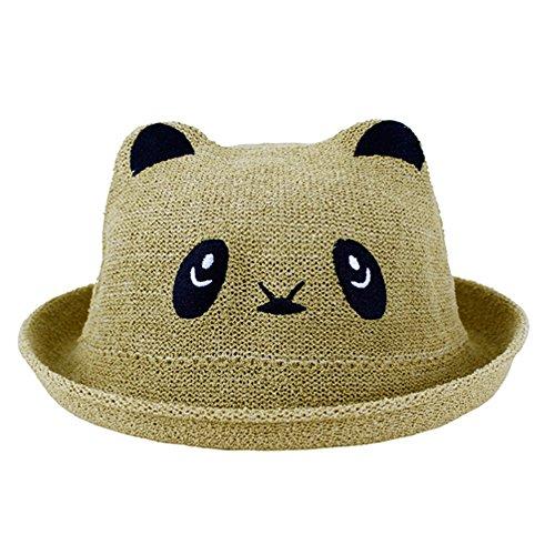 Spring Summer Fall Baby Hat Baby Topee Children Cute Cartoon Panda Hat Fashion Kids - Fashion 9.99