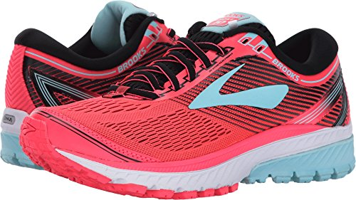 3a5773ee2cd09 Galleon - Brooks Women s Ghost 10 Diva Pink Black Iceland Blue 6.5 B US