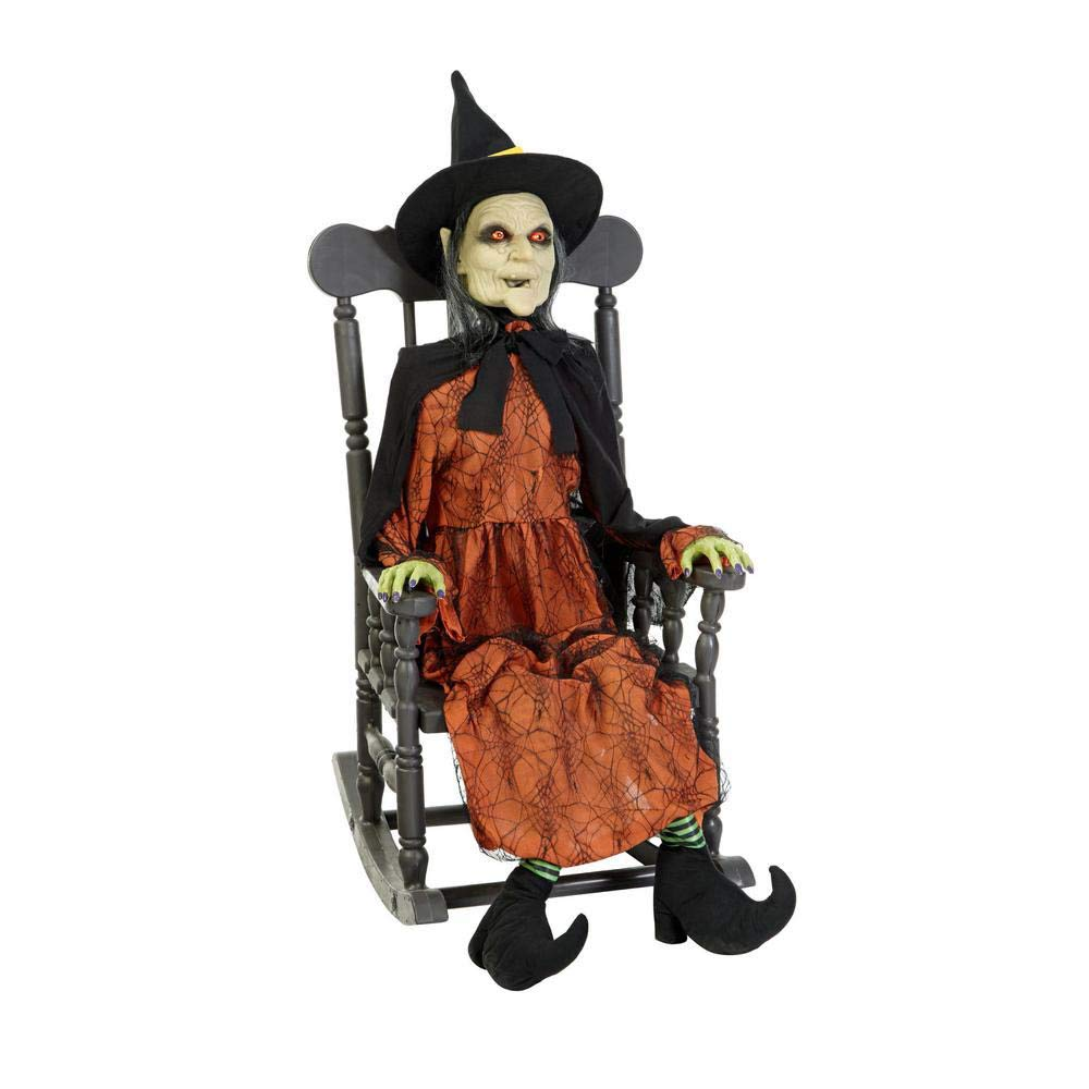 Admirable Amazon Com Home Accents Holiday 51 In Animated Witch In Creativecarmelina Interior Chair Design Creativecarmelinacom