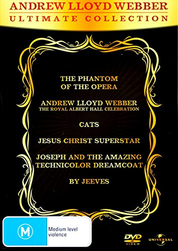 Andrew Lloyd Webber - Ultimate Collection - 6-DVD Set ( The Phantom of the Opera / Andrew Lloyd Webber: The Royal Albert Hall Celebration / Cats / Jes [ NON-USA FORMAT, PAL, Reg.0 Import - Australia ]
