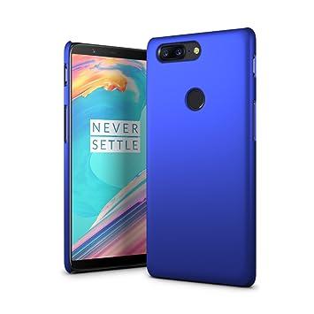 SLEO Funda para OnePlus 5T Ultra Ligero PC Carcasa protectora de teléfono Cover de Parachoques Duro Cubierta Protectora para OnePlus 5T - Azul