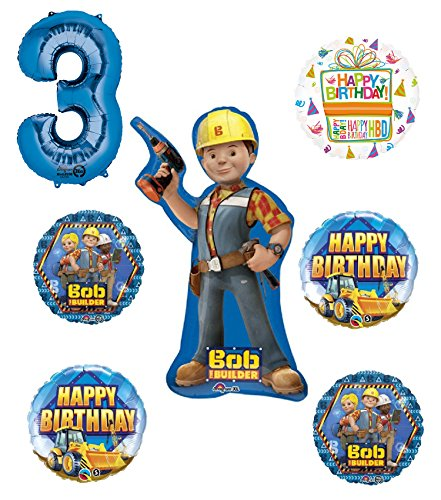 Mayflower Products Bob The Builder Construction 3rd Birthday