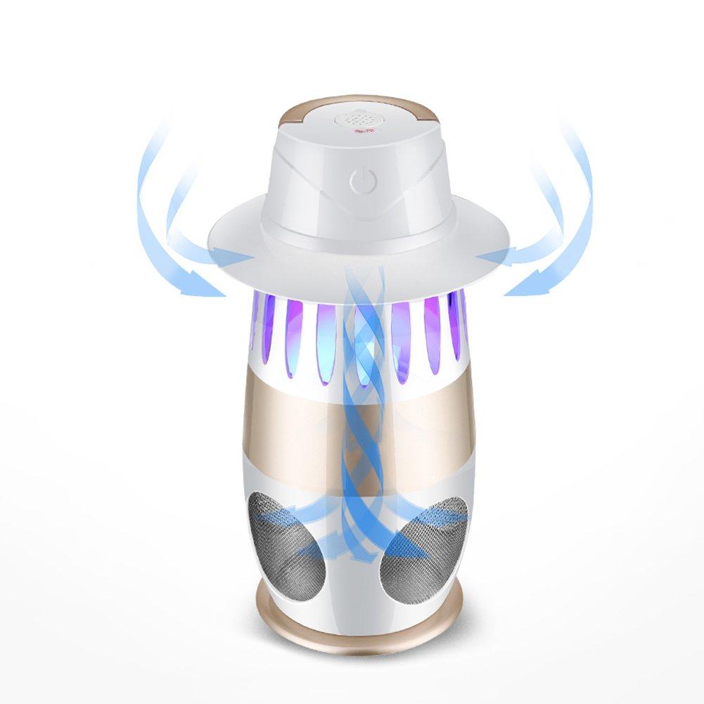 LIANGLIANG Repellente Attrazione di Onde Viola Indoor Sicuro Senza Radiazioni Inalazione Silenziosa Come La Lampada Mosquito Bianca