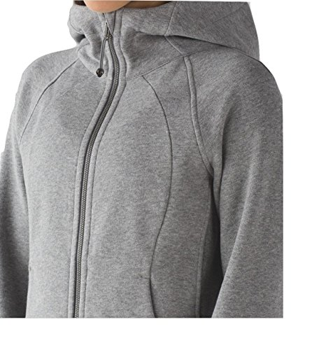 Lululemon Scuba Hoodie (6, Heathered Medium Grey)