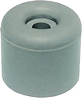 HSI fermaporta in gomma, grigio, 50x 40mm, 2pezzi, 663995.0