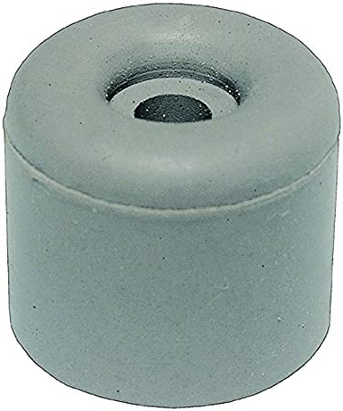 HSI Rubber Door Stops, Grey, 25  x 30  mm Pack of 4, 663940.0 25 x 30 mm Pack of 4