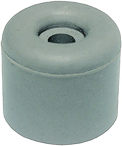 HSI Rubber Door Stops, Set Of 4, 18 X 30 Mm, Grey,