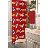 Northwest NFL Kansas City Chiefs Shower Curtain