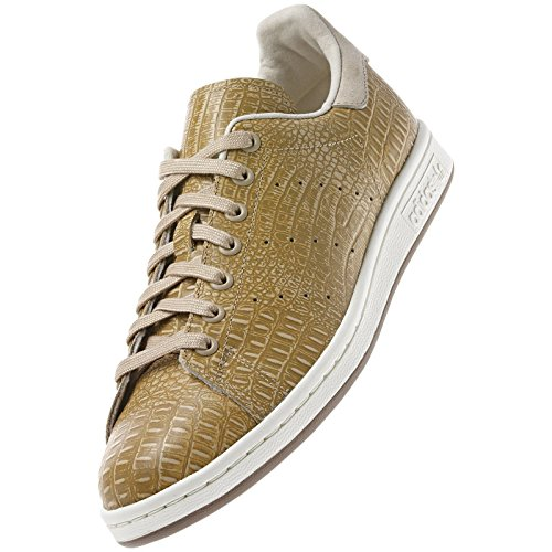Adidas Originals Stan Smith D67657 St Pale Nudegold Crocodile Tennis Mens Shoes -8472