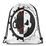 Adeptus Mechanicus Skitarii Drawstring Backpack Gym