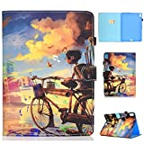 Case for iPad Pro 11' 2018, GSWAY Ultra Slim Lightweight PU Leather Smart Shell Multi-Viewing Stand Cover with Auto Wake/Sleep for iPad Pro 11 inch 2018 Release - Bicycle Boy