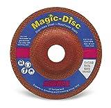 Suhner 909714 Magic Disc Premium Ceramic Grinding Wheel, 6'' x 1/4'' x 7/8'' (Pack of 10)