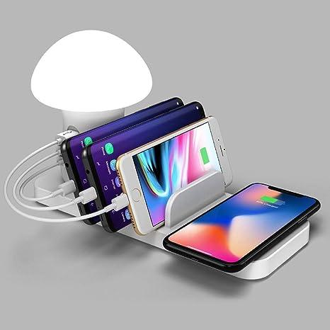 Dfttg USB multifunción recargable de luz de seta y cargador ...
