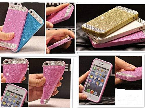 For iPhone 6 case,JANDM Shining Bling Crystal Diamond Glitter Soft Back Case Skin Cover for Apple iPhone 6 4.7inch(Silver)