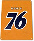 "TIN SIGN ""Union 76"" Gas Oil Metal Decor Wall Art Auto Shop Garage Cave A183"