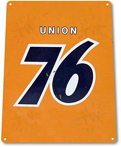 "TIN SIGN ""Union 76"" Gas Oil Metal Decor Wall Art Auto Shop Garage Cave A183"