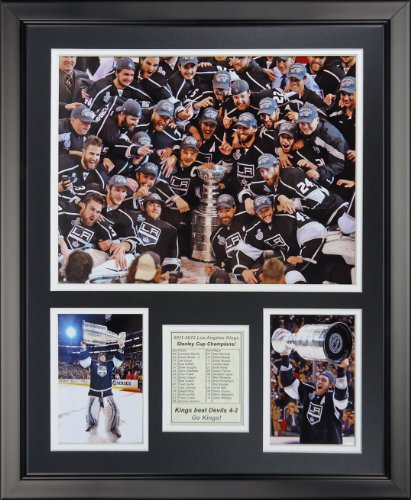 Legends Never Die Los Angeles Kings - 2012 NHL Champions Framed Photo Collage, 16