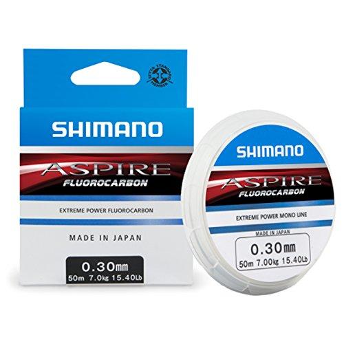 Shimano Aspire fluorocarbon line, colour: transparent, size: 0.330mm