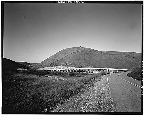 Photo: Carroll Overhead Bridge,Altamont Pass Road,Livermore,Alameda County,CA,HABS,2