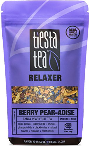 Tiesta Tea Lavender Chamomile, Soft Chamomile Herbal Tea, 30 Servings, 0.9 Ounce Pouch, Caffeine Free, Loose Leaf Herbal Tea Relaxer Blend