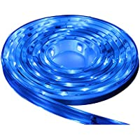 LUNASEA LIGHTING Lunasea Flexible Strip LED - 5M w/Connector - Blue - 12V / LLB-453B-01-05 /