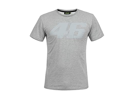 Vr46 T Shirt Core Large Ton In Ton Vr 46 Valentino Rossi Grey
