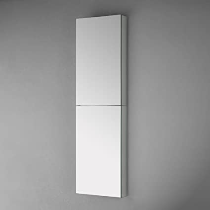 Fresca FMC8030 52u0026quot; Tall Bathroom Medicine Cabinet With Mirrors