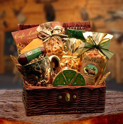 Gift Basket 851632 40.6 x 20.3 x 30.5 cm Hunters Retreat Gift Chest