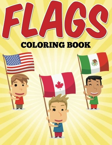 Flags Coloring Book